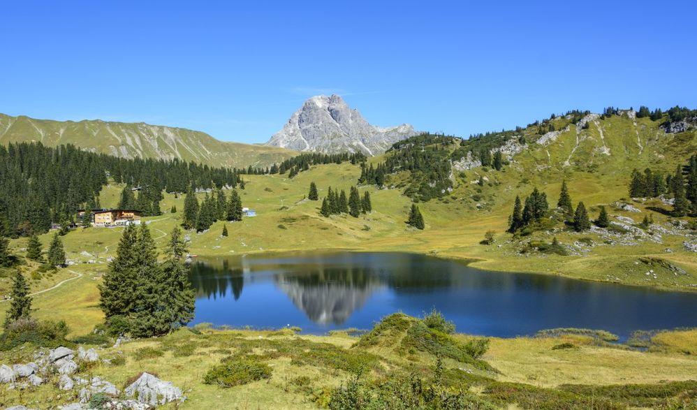 Vorarlberger Bergwelt Walsertal – Körbersee