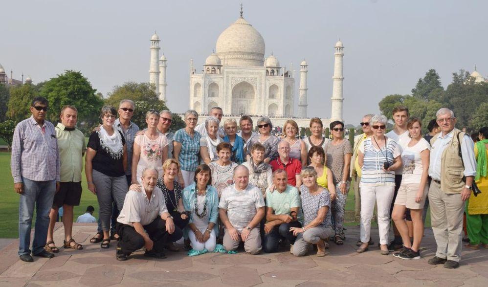 Flugreise Indien