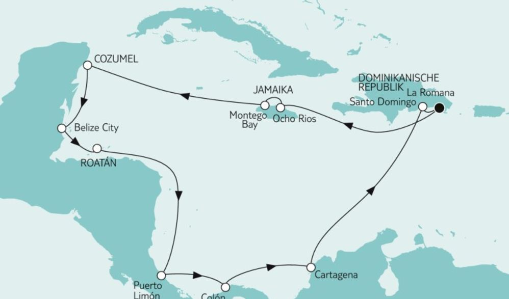 Karibik und Mittelamerika Kreuzfahrt 2019