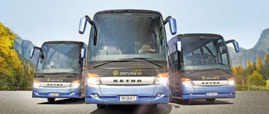 4* Luxus-Reisebusse für die Gruppenreise oder den Betriebsausflug