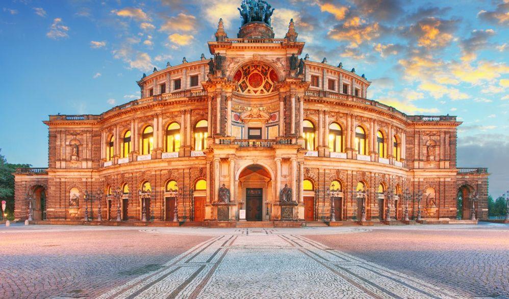 Eröffnungsreise nach Dresden