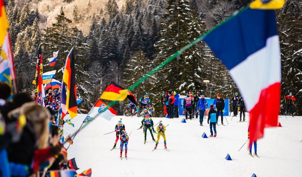 Biathlon Weltcup in Ruhpolding