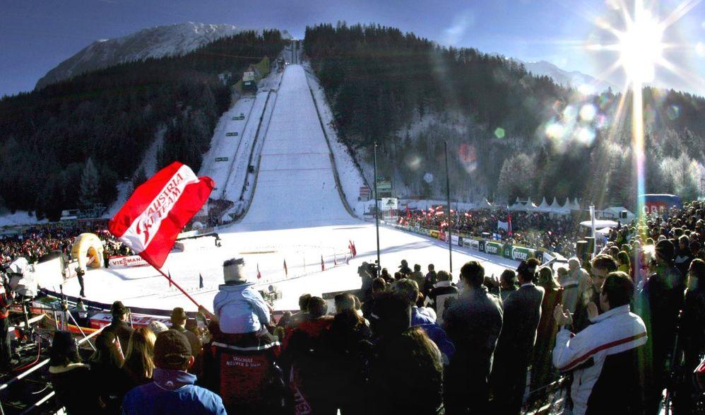 Skiflug Weltcup am Kulm