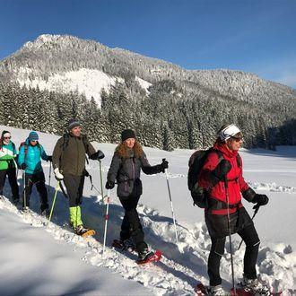 Schneeschuhwanderung Kalkalpen