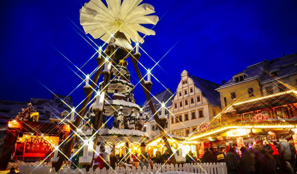 Advent im Erzgebirge mit Dresden