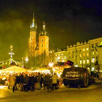 Advent in Krakau