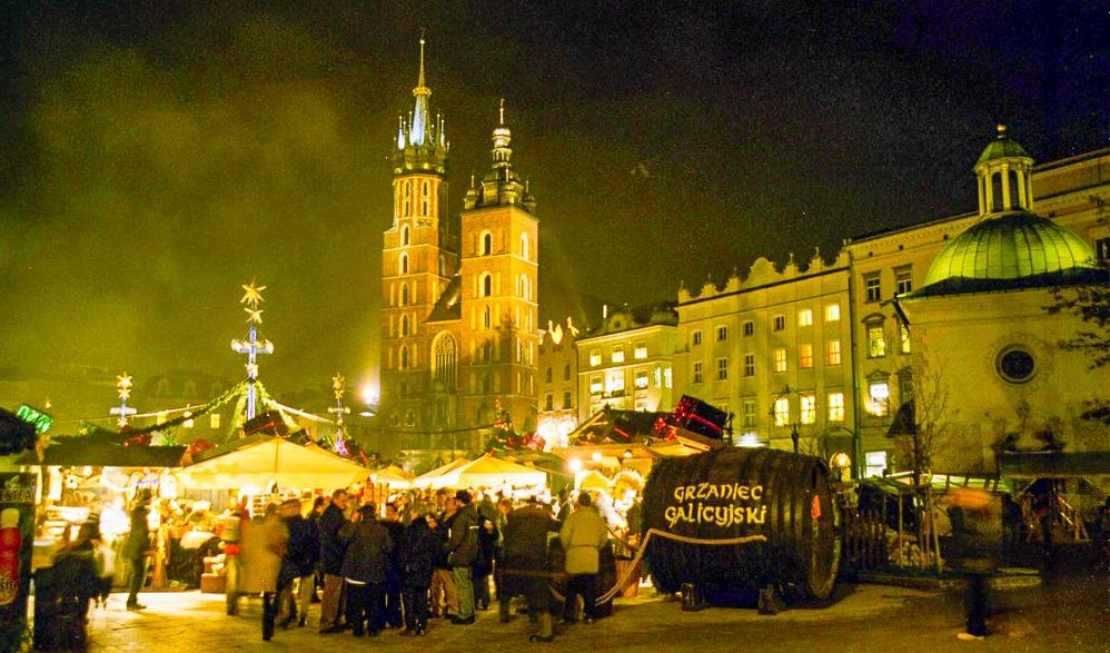 Advent in Krakau