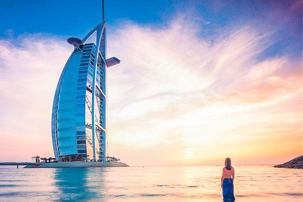 Flugreise Dubai