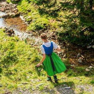 Wandern zur Blaa Alm in Altaussee
