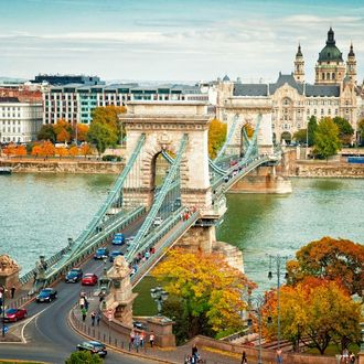 Herbst in Budapest