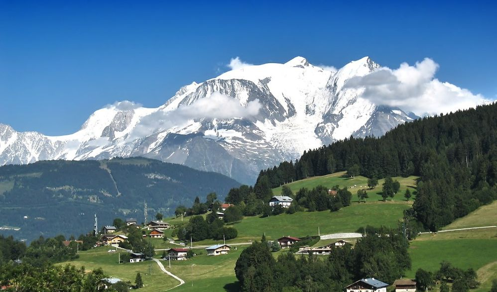 Traumhafter Genfer See - Mont Blanc