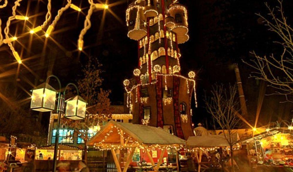 Adventmarkt Regensburg und Kuchlbauers Turmwelt