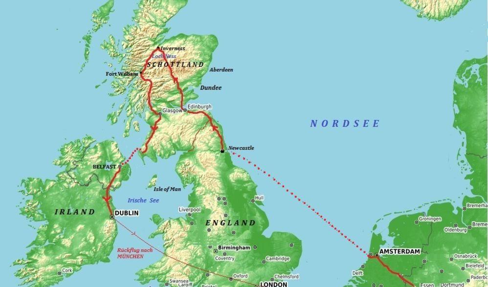 Schottland & Irland zum Kennenlernen