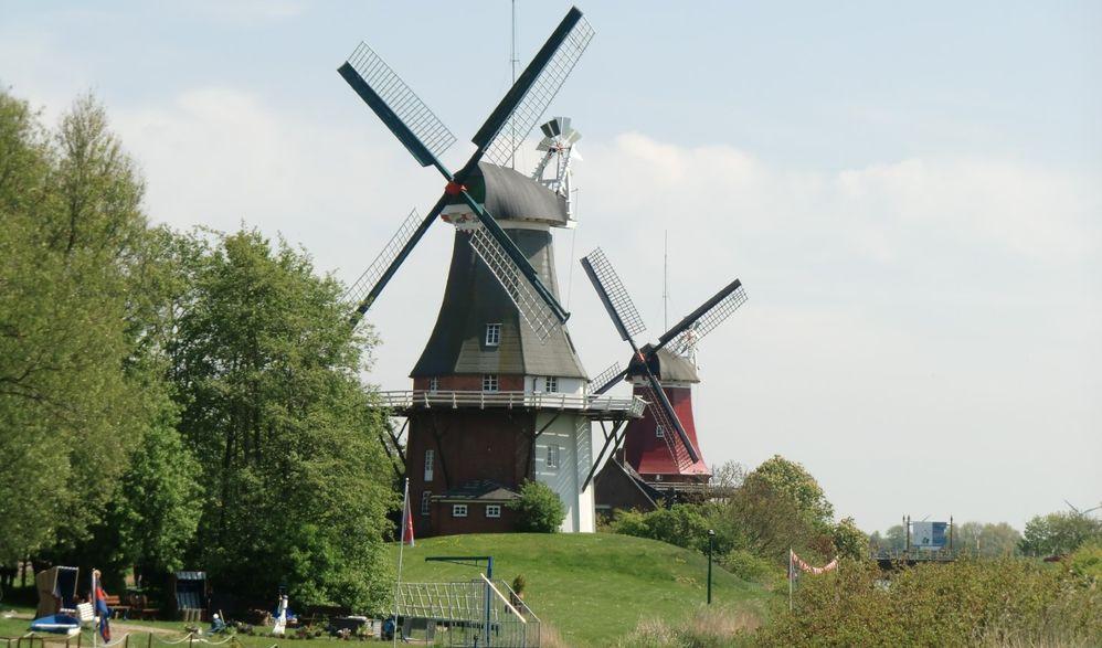 Ostfriesland - Ozeanriesen & Blumenpracht