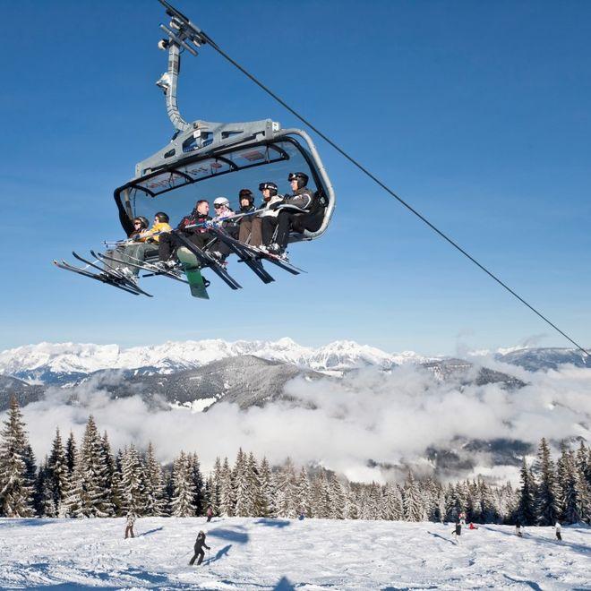 Tagesskifahrt mit Après Ski Hauser Kaibling